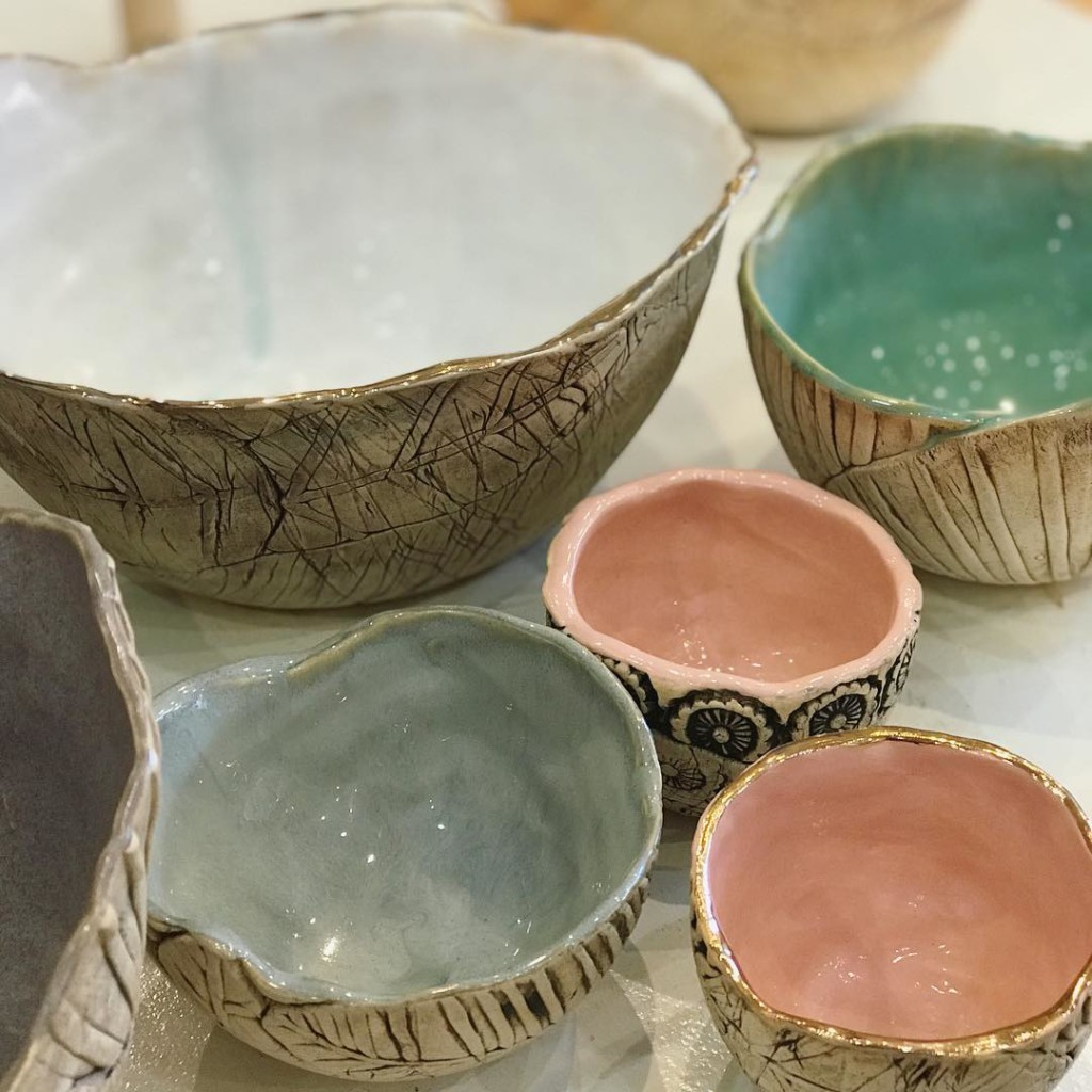 All stocked up on lovely hollowclayworks bowls and itching tohellip