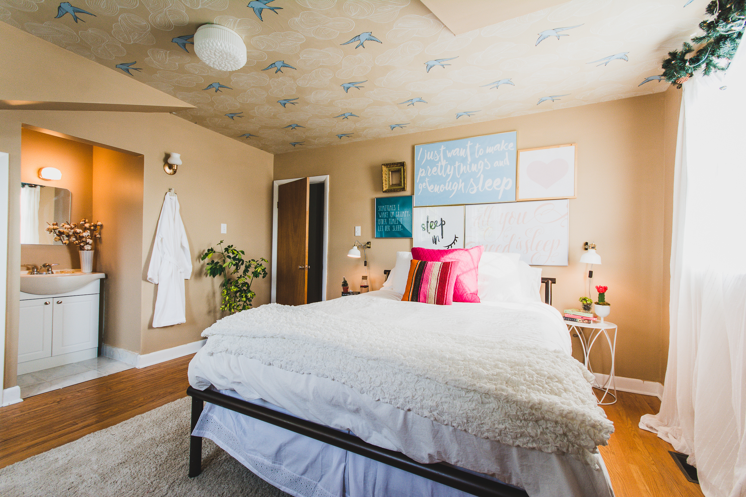 Before After Guest Room Makeover – Cheerfully Made