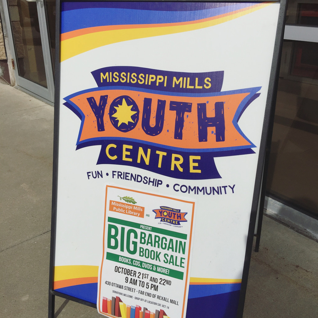 We stopped by the Mississippi Mills Youth Centre BIG bookhellip